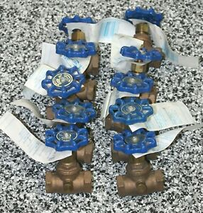 Nibco 1 2 Stop Valve Lot Of 10