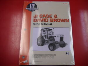 Case David Brown Tractor I t Shop Service Manual 770 870 885 980 990 995 C203