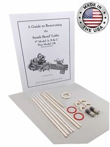 South Bend Lathe 9 Model C Rebuild Manual Parts Kit