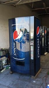5 Vendo Multi Price Soda Vending Mach 12 16 20 Oz Pepsi coke 10 Selection