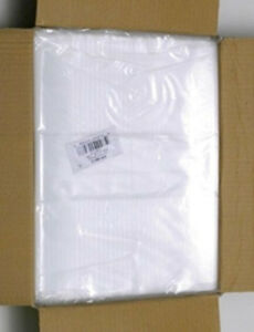 2000 Clear Poly Plastic Bags 7x9 Open Top For Packing Shipping Small Merchandise