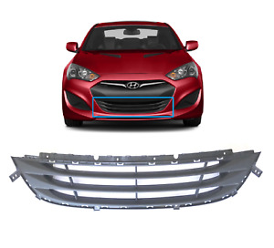 2013 2016 Genesis Coupe Front Bumper Lower Grille Genuine Hyundai
