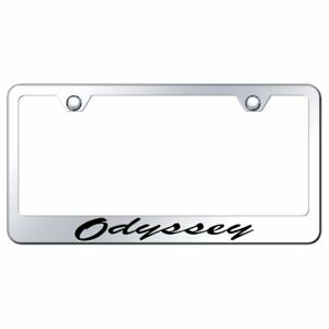 Honda Odyssey Mirroed Chrome Stainless Steel License Plate Frame
