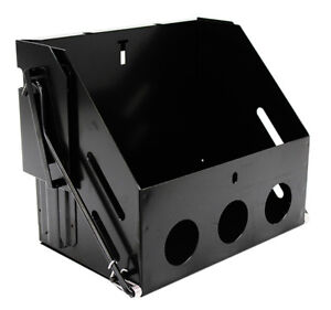 Drop Down Battery Box Hot Rod Truck Street Rod Group 24 Black Out Series