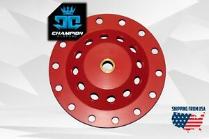 7 16 18 Aggressive Diamond Grinding Concrete Cup Wheels For 7 8 5 8 Arbor