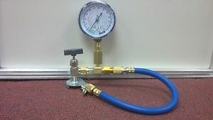 R12 R22 Freeze 12 Check charge It Kit W Gauge Hose