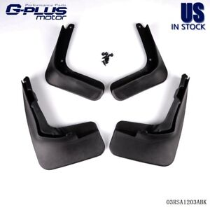 For 2013 Ford Fusion Molded Mud Flaps Splash Guards Fender Mudguard 2014 Mondeo