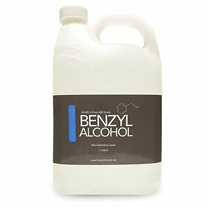 Gallon Benzyl Alcohol Usp Grade In Bpa Free Plastic Container Fast Ship