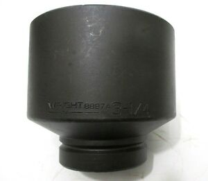 Wright Tool 8897a 3 1 4 Impact Socket 1 Drive 6 point 3 1 4 In Made In Usa