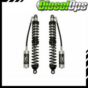Icon 2 0 Series Front Coil Over Rr Shocks For Jeep Wrangler 2007 W 4 5 6 Lift
