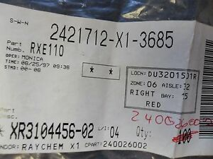 Rxe110 Resettable Fuse 60v 40a Ptc Radial Polyswitch 10 Per Lot