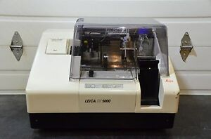 Leica Cv5000 Automated Glass Coverslipper Cv 5000 Tested Guaranteed
