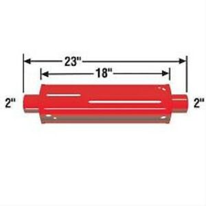 Cherry Bomb 87886cb Hot Rod Traditional Glasspack Muffler 4 Red Cherrybomb