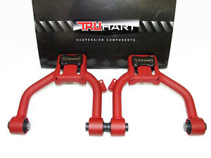 Truhart Adjustable Front Upper Camber Control Arms Kit Accord 03 07 Tsx 03 08