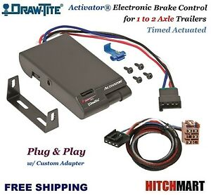 Draw Tite Trailer Brake Control W Adapter For 2003 2006 Chevy Silverado Sierra