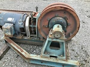 Hollister Whitney Elevator Drive System 2500llb 724