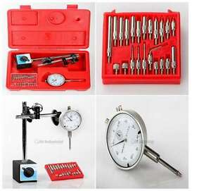 Dial Indicator Clamp Magnetic Base Work Light Point Precision Inspection Set
