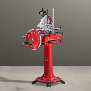 Berkel Flywheel Hand Crank Slicer volano Model 8 Fully Restored
