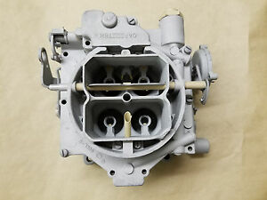 Carter Wcfb 4 Barrel Carburetor Carb 348 Top Is 6 1396 And Bowl Is 1241