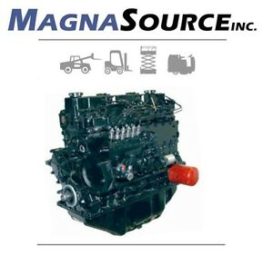 Mitsubishi S6s Forklift Engine Diesel Cat 13 Month Warranty Magna Source