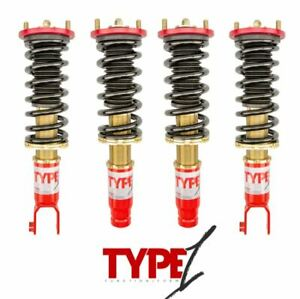 Function Form F2 Type 1 Coilovers Suspension For Honda Civic Si 96 00 Ek New