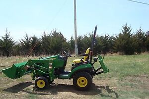 John Deere Compact Utility 1026r Tractor And Accessories