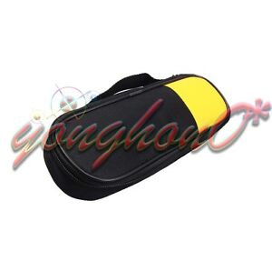 Double Zipper Carry Soft Case bag Fit For Fluke T5 1000 T5 600 Clamp Meter