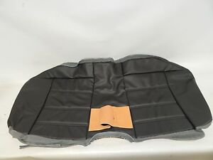 New Oem 2003 2004 Ford Mustang Rear Bench Seat Cushion Cover Black Leather
