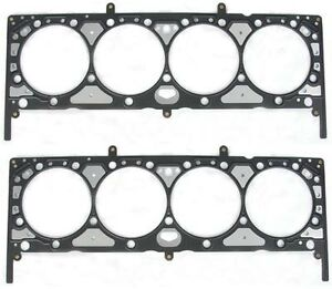 Small Block Chevy 400 Head Gasket Set Engine Works 111400 2 pack