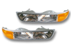 Fits 99 06 Chevrolet Silverado Suburban Tahoe Parking Side Marker Light 1 Pair