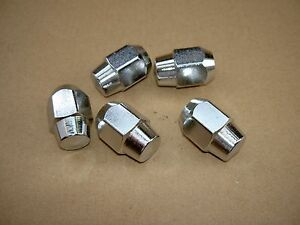 65 70 Ford Mustang Style Steel Wheel Chrome Lug Nuts C5zz 1012 B New