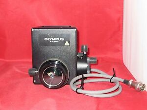Olympus Ix hlsh100 100 Watt Centerable Lamphouse With Lens
