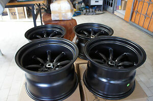 For 240z Z31 S31 Ae86 Datsun Ta22 Jdm 15 114 3 Staggered Wheels Watanabe Style