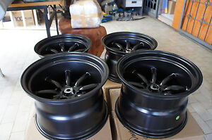 For 240z Z31 S31 Ae86 Datsun Ta22 Jdm 15 Banana Style Staggered Wheels Watanabe