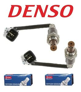 Front Upstream Set Of 2 Air Fuel Ratio Oxygen O2 Sensors Denso For Lexus Toyota