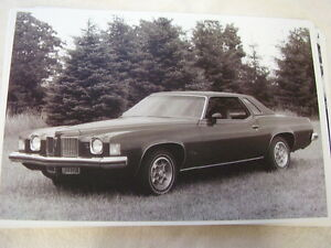 1973 Pontiac Grand Prix Sj 11 X 17 Photo Picture