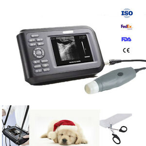 Veterinary Ultrasound Scanner Handscan Probe For Pig Sheep Dog Pregnancy