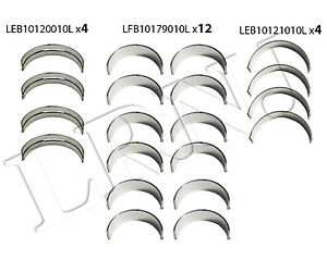 Land Rover Freelander V6 2 5l 2002 2005 Main And Push Rod Bearings Set