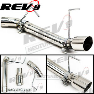 Rev9 For Mustang 05 10 V6 Single Axle Back Flowmaxx Exhaust System Straight Pipe