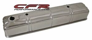 Chrome Steel Valve Cover For 42 53 Chevy 216 Straight In Line 6 Cylinder Engine