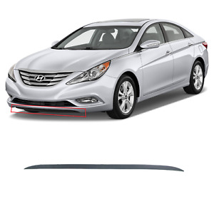 Front Bumper Lower Deflector Sonata 2011 2012 2013 Oem Hyundai Front Lower Lip