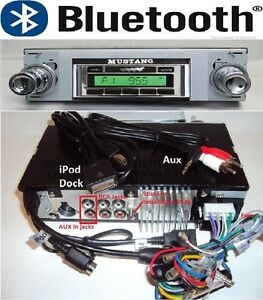 1969 73 Mustang Bluetooth Am Fm Stereo Radio W Switch Back Am Dial 630dfb