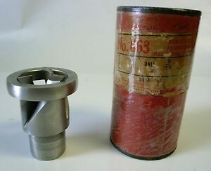 Cleveland No 663 9 16 Hss Adjustable Hollow Mill For Steel Hss Excellent Cond
