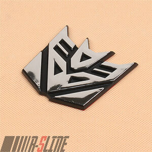 Decepticon Transformers Emblem Badge Decal Car Sticker Graphic About 2 3 Inch