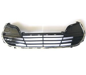 2012 2017 Veloster Front Bumper Grille Lower Grille With Chrome Genuine Hyundai