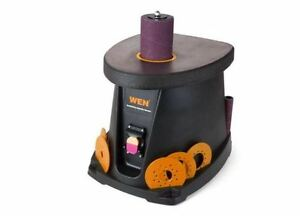 New Wen 3 5 Amp 1 2 Hp Oscillating Spindle Sander Corded Bench Port Model 6510