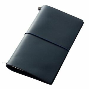 Midori Traveler s Notebook Blue Edition Leather Cover 2015