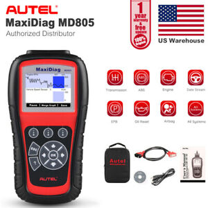 Md805 All System Obd2 Auto Diagnostic Scan Tool Engine Abs Airbag Epb Oil Reset