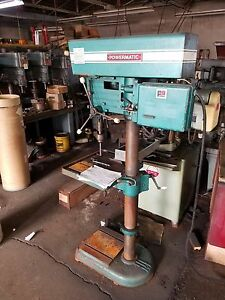 Powermatic Drill Press Model No 1200 Used