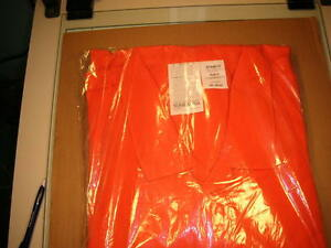 Stanco Flame Resistant Fr Coveralls Nomex Iiia Orange 5xl Nx4681 Arc Flash Hrc1